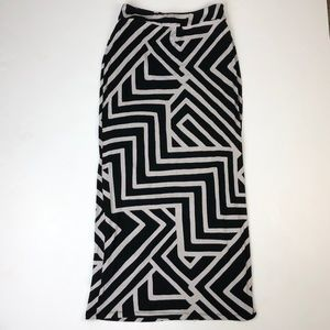 Maeve Anthropologie XS Stretch Jersey Maxi Skirt